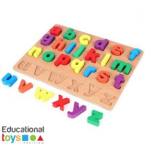 Chunky Small ABC Wooden Puzzle