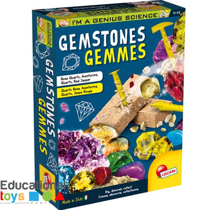 Buy Gemstones - Lisciani Science Kit Online - Educational ...