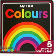 My First Colours Touch and Feel Board Books