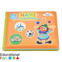 Name Coginition Bath Book for Infants
