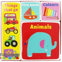 My Early Learning Box (Set of 4 Board Books)
