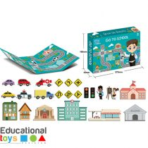Go To School Magnetic Puzzle