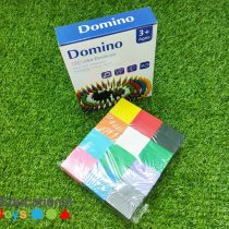 Colorful Wooden Domino Block Set